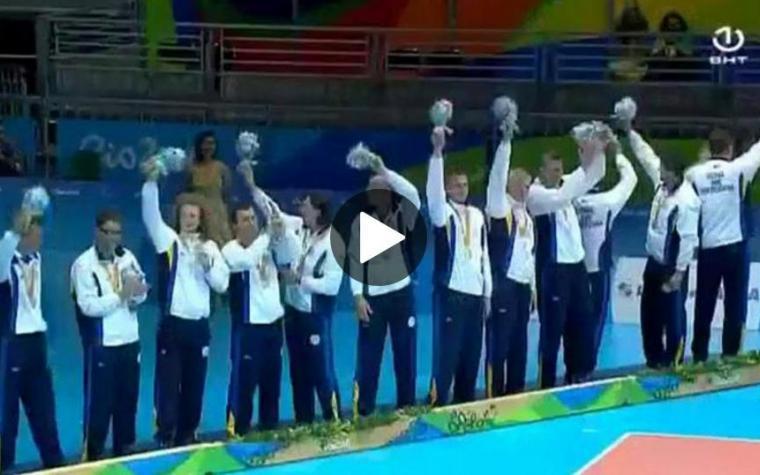 (VIDEO) PONOSI DRŽAVE: Pogledajte kako je izgledala dodjela medalja našim sjajnim odbojkašima