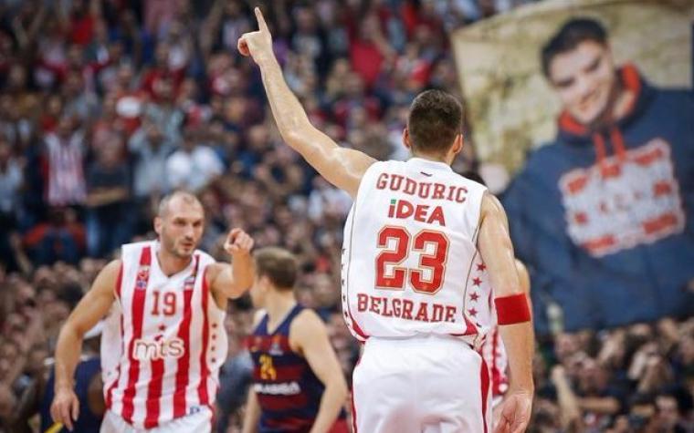 Crvena zvezda srušila Barcelonu u Beogradu