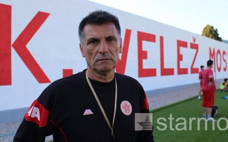 Ibro Rahimić: Nisam preuzeo Velež da bih bio trener u Prvoj ligi Federacije BiH