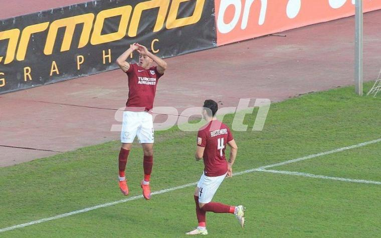 (VIDEO) Nermin Crnkić pogodio za vodstvo Sarajeva i posvetio gol KK Bosna, Bekić pogodio za 2:0