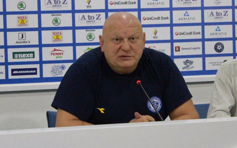 Slavko Petrović: Igrači su ovom pobjedom dali svoju podršku upravi