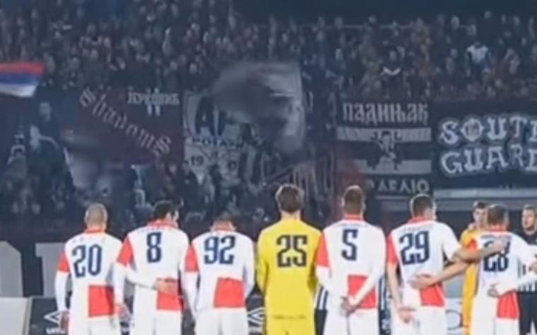 (VIDEO) Sramotan potez, navijači Partizana nisu ispoštovali minutu šutnje za brazilske fudbalere