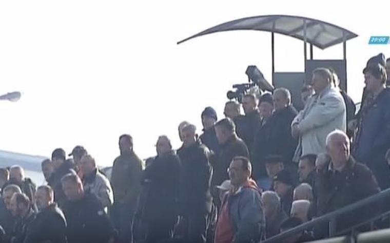 (VIDEO) Minuta šutnja za Chapecoense na utakmici između Viteza i Zrinjskog