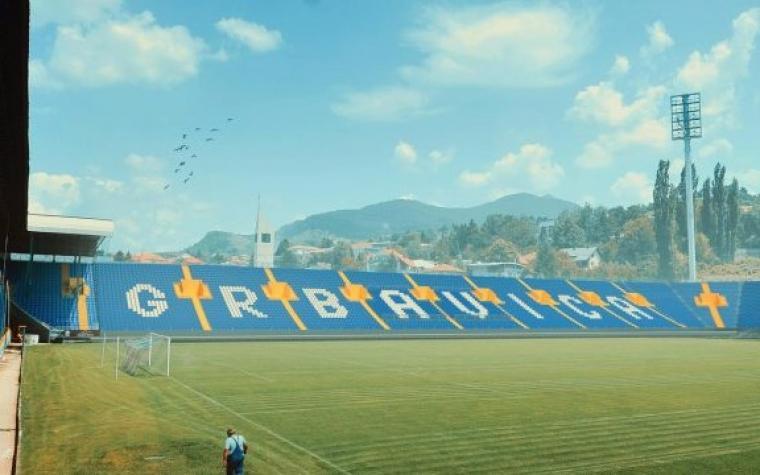 NK Široki Brijeg podržao izgradnju istočne tribine stadiona Grbavica kupovinom desetogodišnje ulaznice