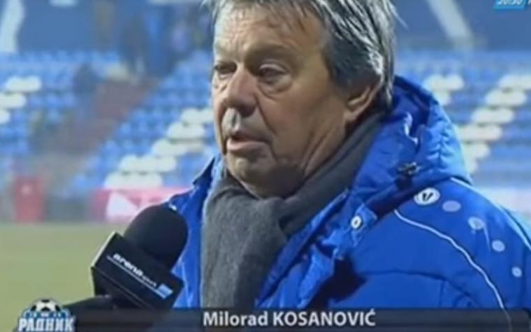 Milorad Kosanović u kamere Arene sport: 'Ovi ljudi uče našu djecu da budu lopovi'