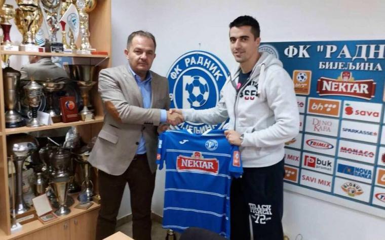 Bivši napadač Sarajeva potpisao za Radnik