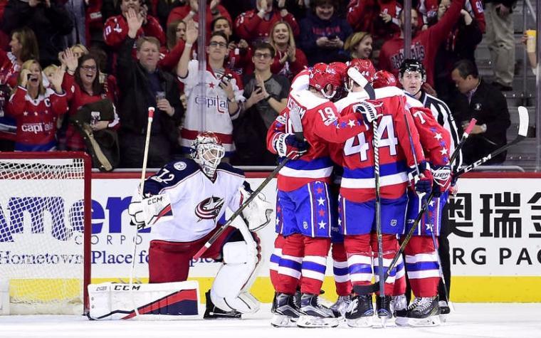 NHL: Capitalsi zaustavili Blue Jacketse