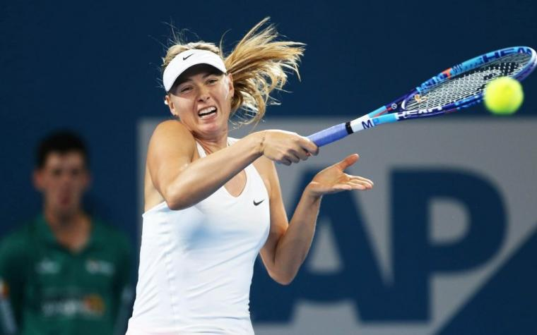 Maria Sharapova se vraća u aprilu ove godine