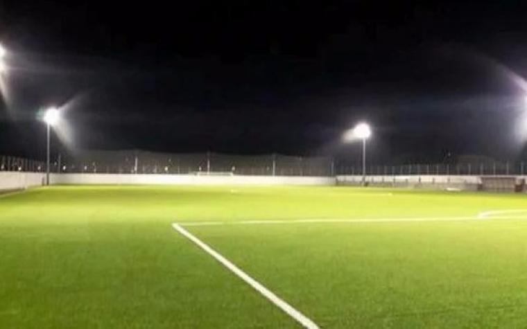 Reflektori obasjali pomoćni teren FK Velež