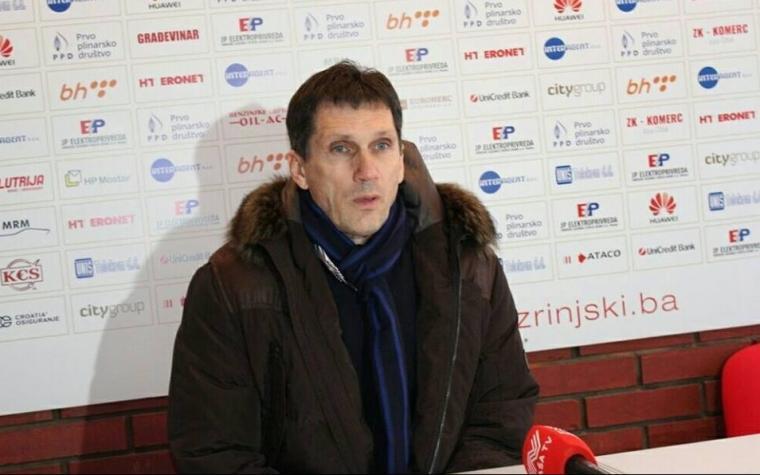Ivica Barbarić: Igračima su ambicije i ciljevi Zrinjskog poznati