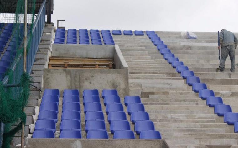 (FOTO) Istočna tribina Grbavice 'dobila' stolice