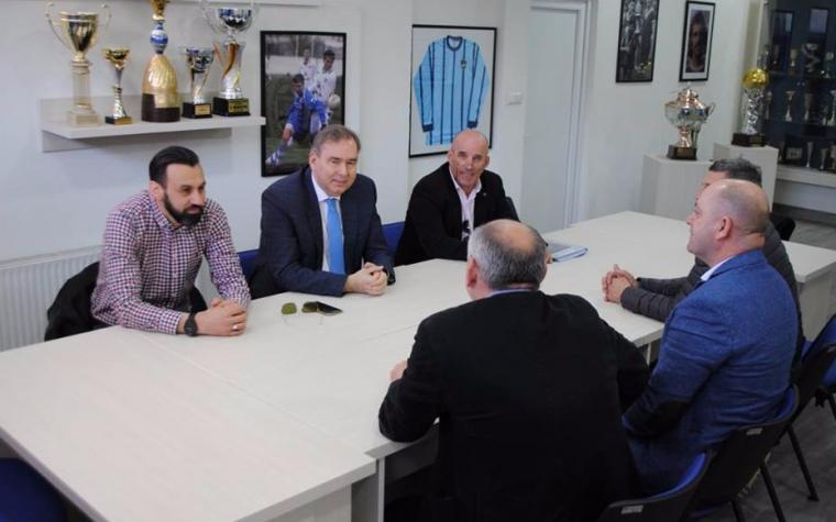 Željezničar i Borac na sastanku dogovorili jačanje veza između ova dva kluba, u planu i prijateljska utakmica
