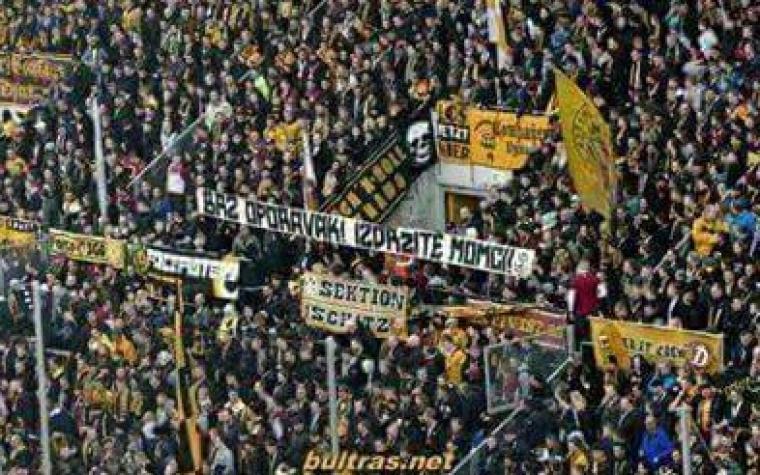 Navijači Dynamo Dresdena uputili podršku povrijeđenim navijačima Sarajeva