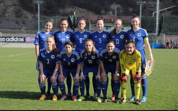 Ženska kadetska fudbalska reprezentacija nesretno poražena od Danske
