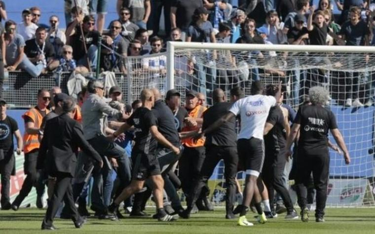 Bastia žestoko kažnjena zbog huliganskog ispada protiv Lyona