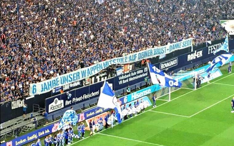 Navijači Schalkea se oprostili od Kolašinca: Hvala ti Seo
