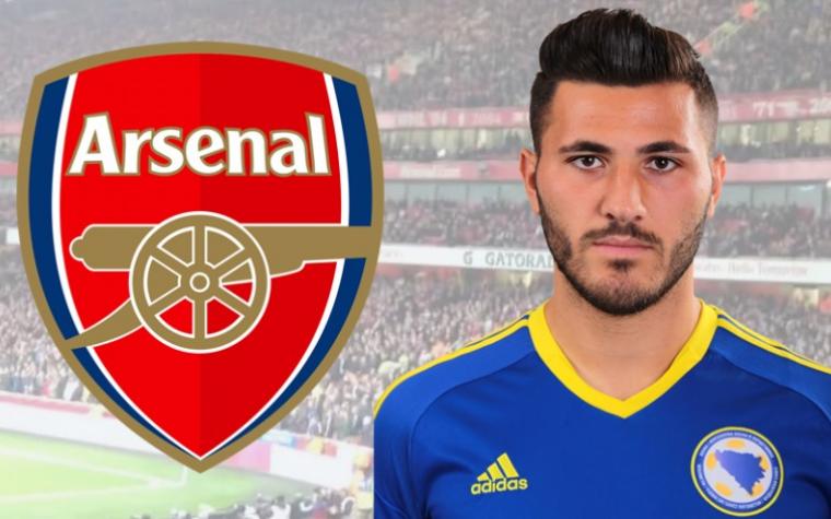 Kolašinac potpisao petogodišnji ugovor sa Arsenalom