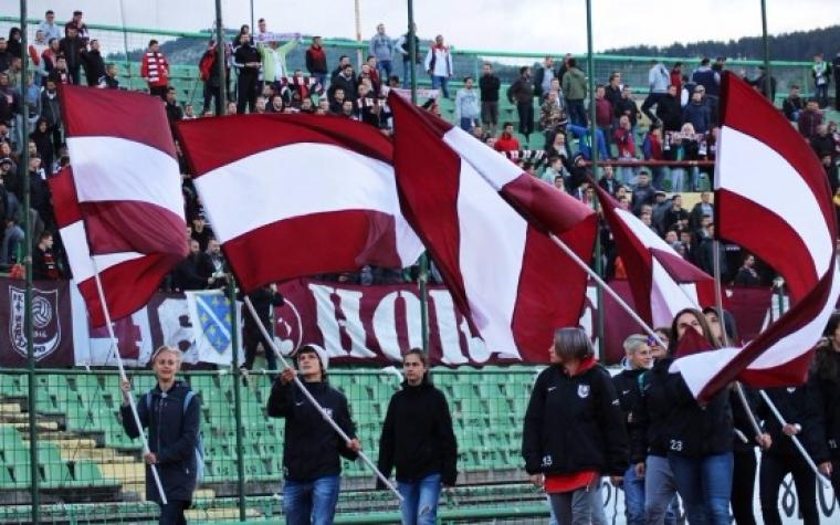 FK Sarajevo otvorio dio južne tribine za svoje navijače