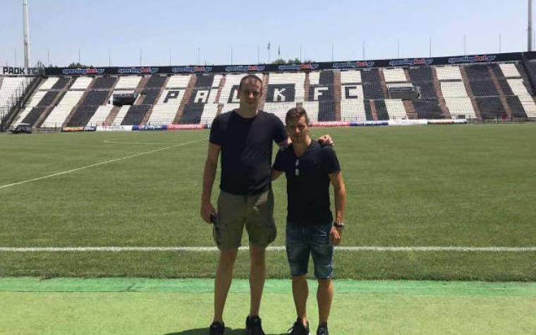 Kapiten KK Partizan posjetio Gojka Cimirota u Solunu