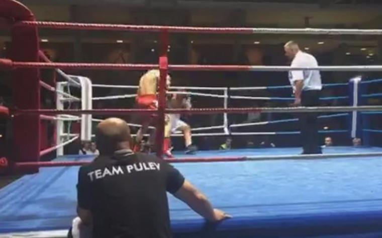 (VIDEO) Bugarin silovitim nokautom izbacio bh. boksera iz ringa