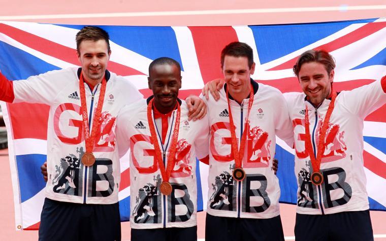 Britanska štafeta dobila medalju nakon devet godina