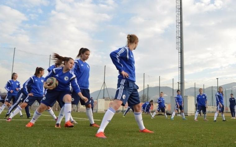 Okupljanje ženske juniorske reprezentacije BiH