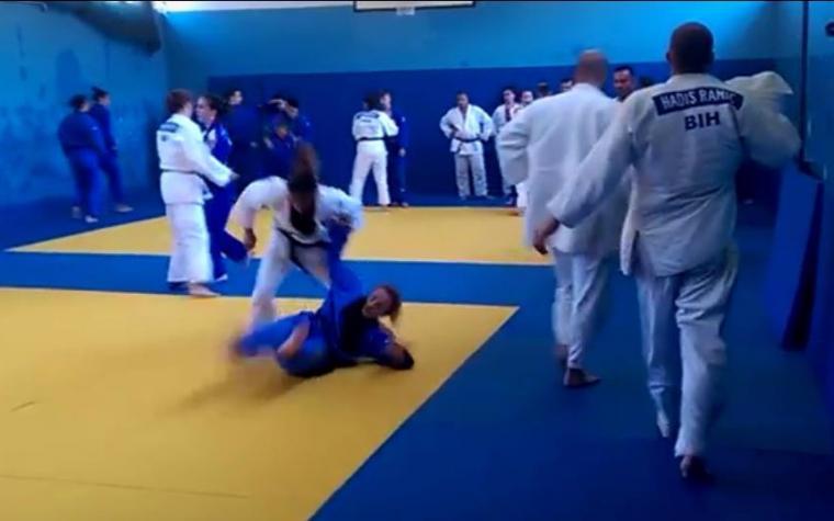 Ljetnom judo kampu u Fojnici prisustvovala i olimpijska pobjednica Majlinda Kelmendi