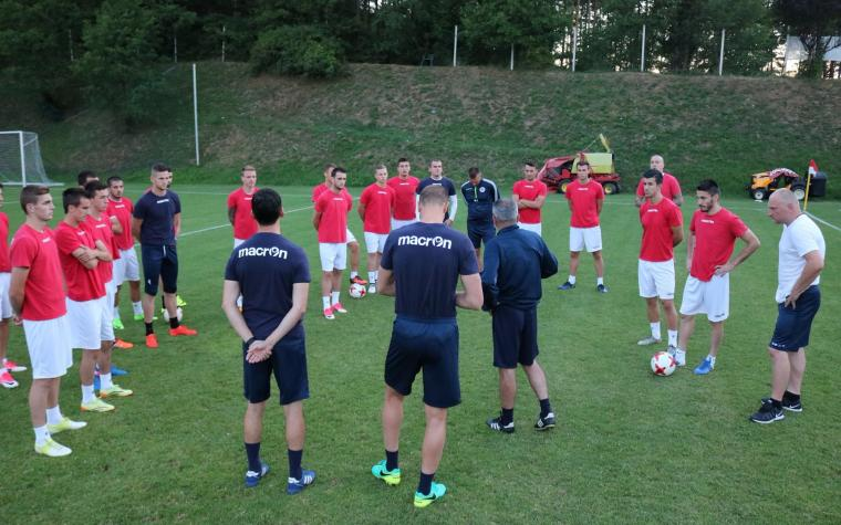 Zrinjski odradio trening u Mariboru