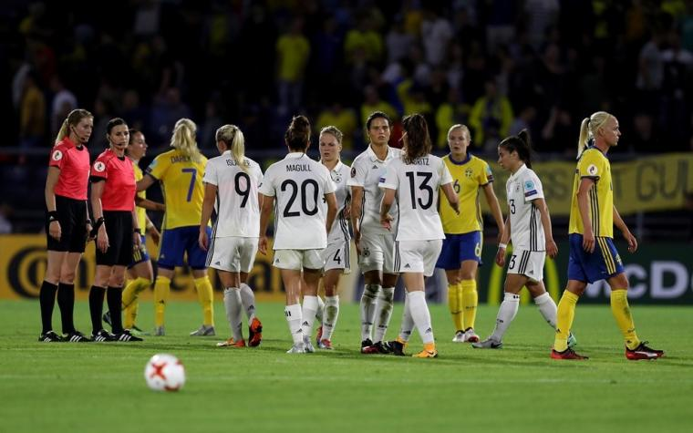 Derbi prvog kola Evropskog pvenstva za fudbalerke između Švedske i Njemačke završen bez pobjednika