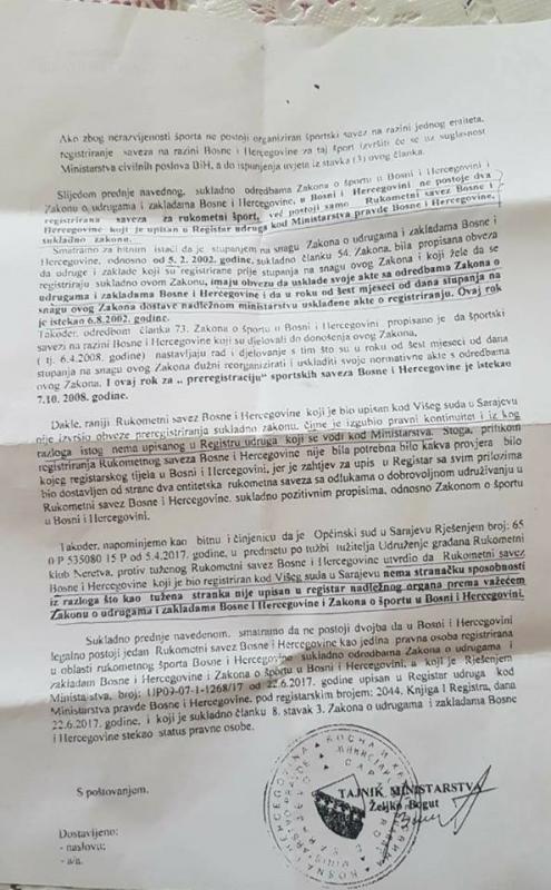 2.jpg - RSBiH ima pitanje za pravnike i stručnjake: Treba li uništiti rukomet u Bosni i Hercegovini?