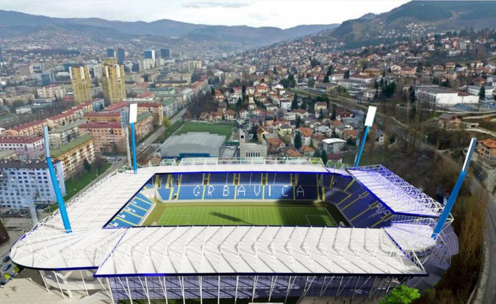 1.jpg - FOTO: Predstavnici UEFA-e posjetili Stadion Grbavica