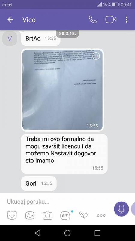6.jpg - (FOTO) FK Džaja iznio saopštenje: Ovako nas je Vico Zeljković pokušao prevariti