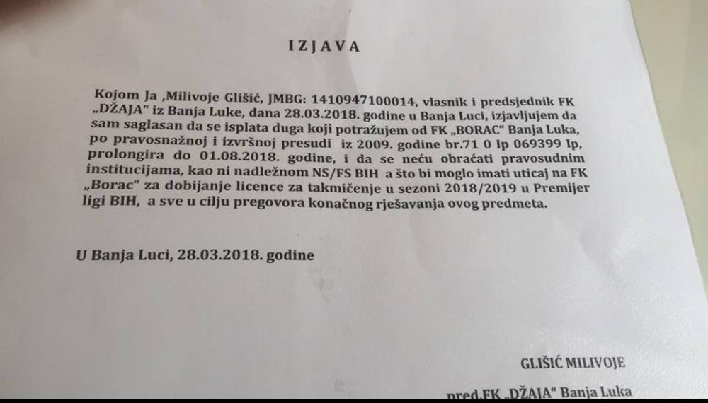 4.jpg - (FOTO) FK Džaja iznio saopštenje: Ovako nas je Vico Zeljković pokušao prevariti