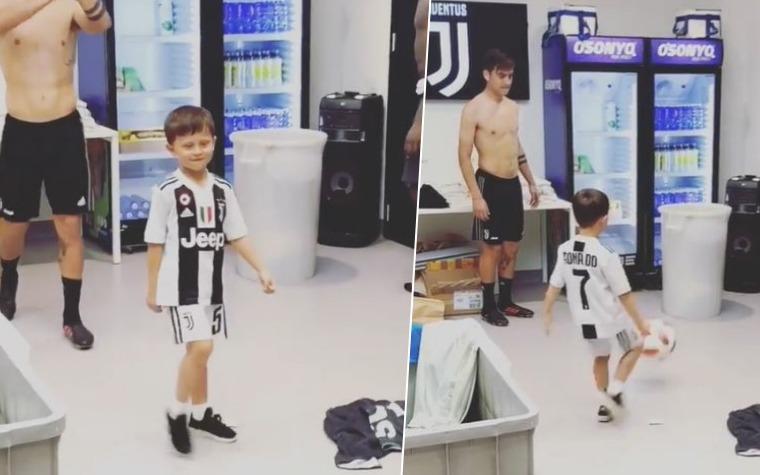 (VIDEO) Pjanićev nasljednik u Ronaldovom dresu vježba sa ''drugovima'' iz Juventusa