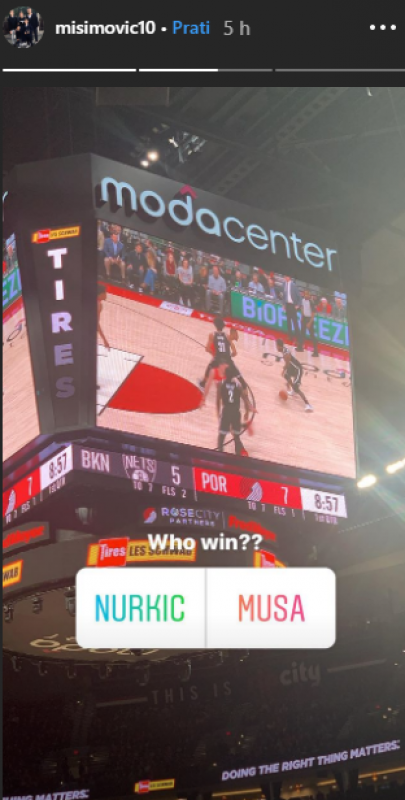Screenshot_1.png - (FOTO/VIDEO) Zvjezdan Misimović otišao pogledati NBA utakmicu, pa oduševio sve Bosance i Hercegovce